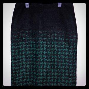 EUC Talbots Wool Acrylic Pencil Skirt 4